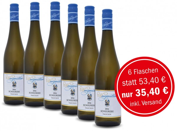 WEINGUT WEEGMÜLLER 2016 Scheurebe trocken