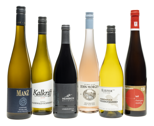 Entdeckerpaket Deutsche Weinregionen inkl. Booklet